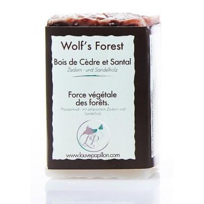 Savon naturel Wolf's Forest Bois de Cèdre et de Santal bio