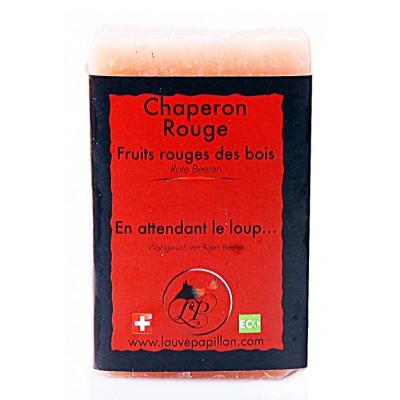 Savon naturel Chaperon rouge au fruits rouges des bois