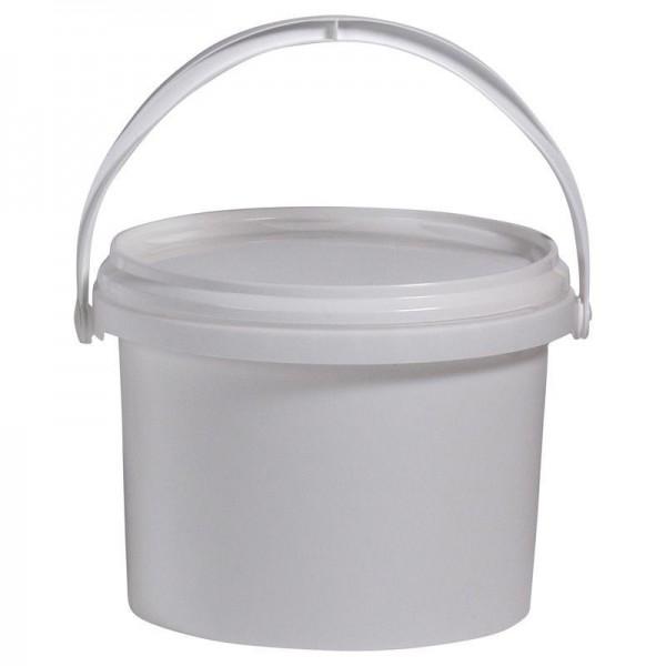 Pot plastique 1kg avec couvercle