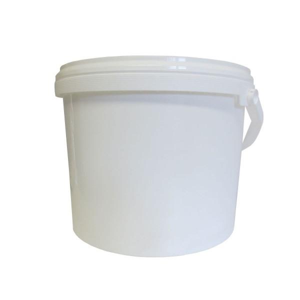 Pot plastique 5kg avec couvercle