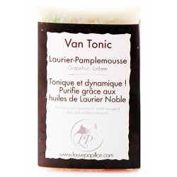 Savon naturel Pamplemousse Blanc et laurier Noble bio