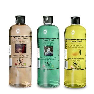 3 Savons liquides dynamisme 500 ml