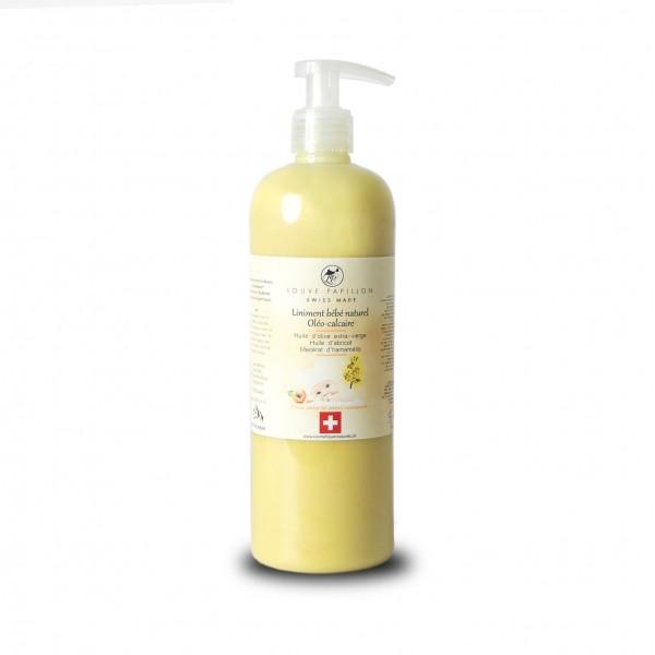 Liniment oléo-calcaire à l'huile d'abricot et au macérat d'hamamélis