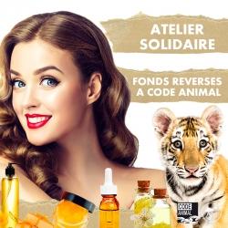 Atelier cosmétique solidaire - soutien Code Animal !