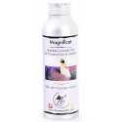 Huile de massage Magnificat à la lavande bio 120 ml