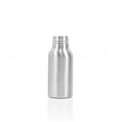 Flacon alu argent finition luxe gloss 50 ml