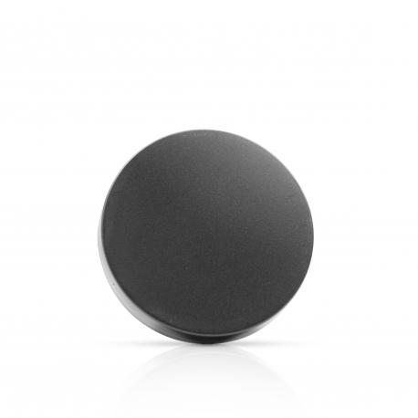 Couvercle plastique noir 7cm