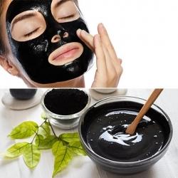 Base pour masque visage moussant purifiant au charbon