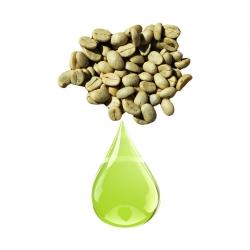 Café vert fruit macerat huileux
