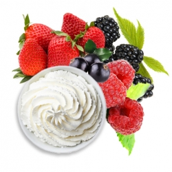 CHANTILLY CORPORELLE FRUITS ROUGES