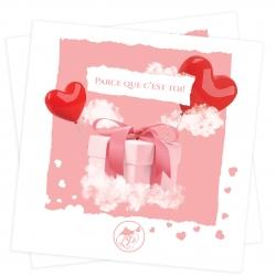 Carte cadeau Saint-Valentin