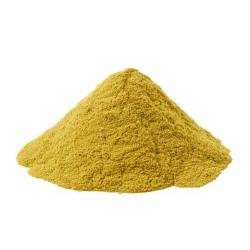 Pigments cosmétiques naturels couleur bouton d'or