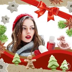 Atelier de Noel cadeaux cosmétiques d'hiver