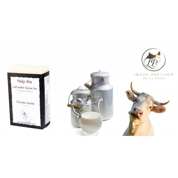 Savon au lait de vache suisse bio