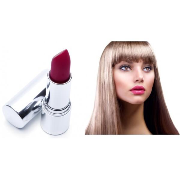 Rouge à lèvres naturel couleur Orchidée