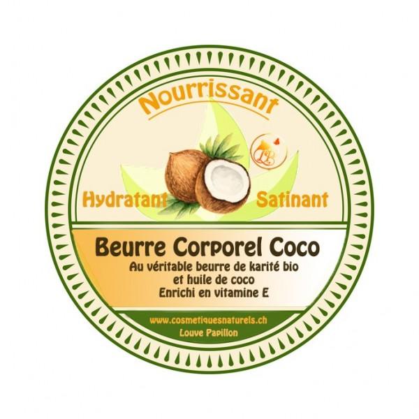 Beurre baume corporel et lèvres régénérant COCO