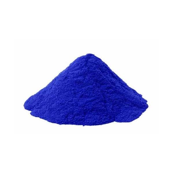 Pigments cosmétiques naturels bleus