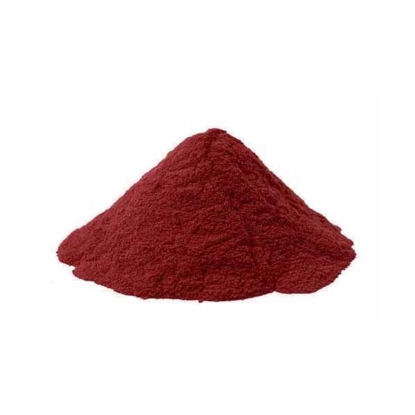 Pigments cosmétiques naturels Rouges