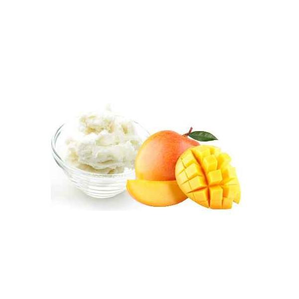 Beurre de mangue raffiné application cosmétiques naturels