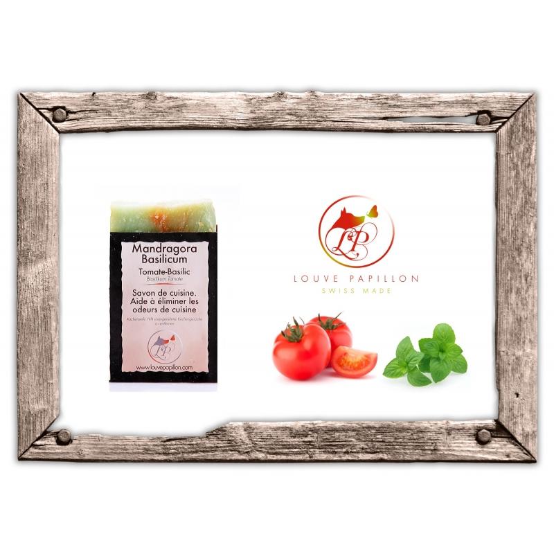 savon artisanal de cuisine tomate basilic mandragora basilicum cosm tiques naturels. Black Bedroom Furniture Sets. Home Design Ideas