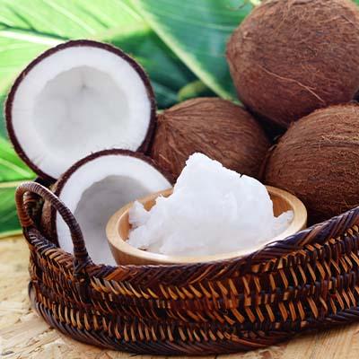 recettes cosmétique, huile coco